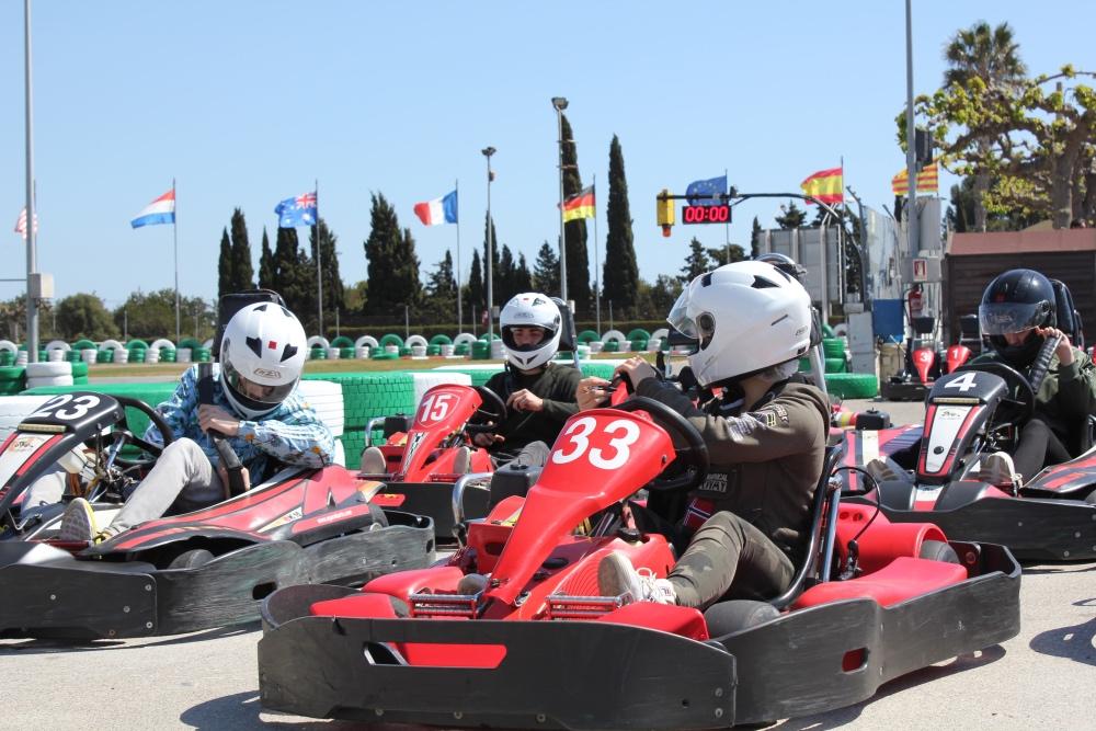 Éxito de inauguración en Karting Salou